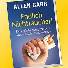 ALLEN CARR | ENDLICH NICHTRAUCHER | Der einfach Weg mit dem Rauchen aufzu (Buch)