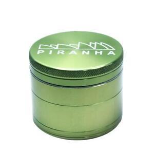 """Piranha PURPLE 4 Piece Herb Tobacco Premium Grinder LARGE 2.5/"""" Aluminum"""