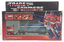 Optimus Prime  G1 CEJI RED FOOT Transformer Complete with Box [OPRFT1]