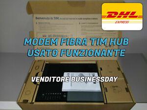 Modem-TIM-HUB-Fibra-1000-Mega-Router-Wireless-WiFi-5GHZ-2-4GHZ-Nuovo-Modello