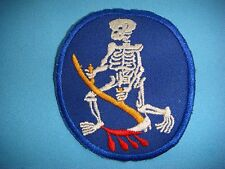 VIETNAM WAR PATCH, USAF 13th BOMBARDMENT SQUADRON  DEVIL REAPERS