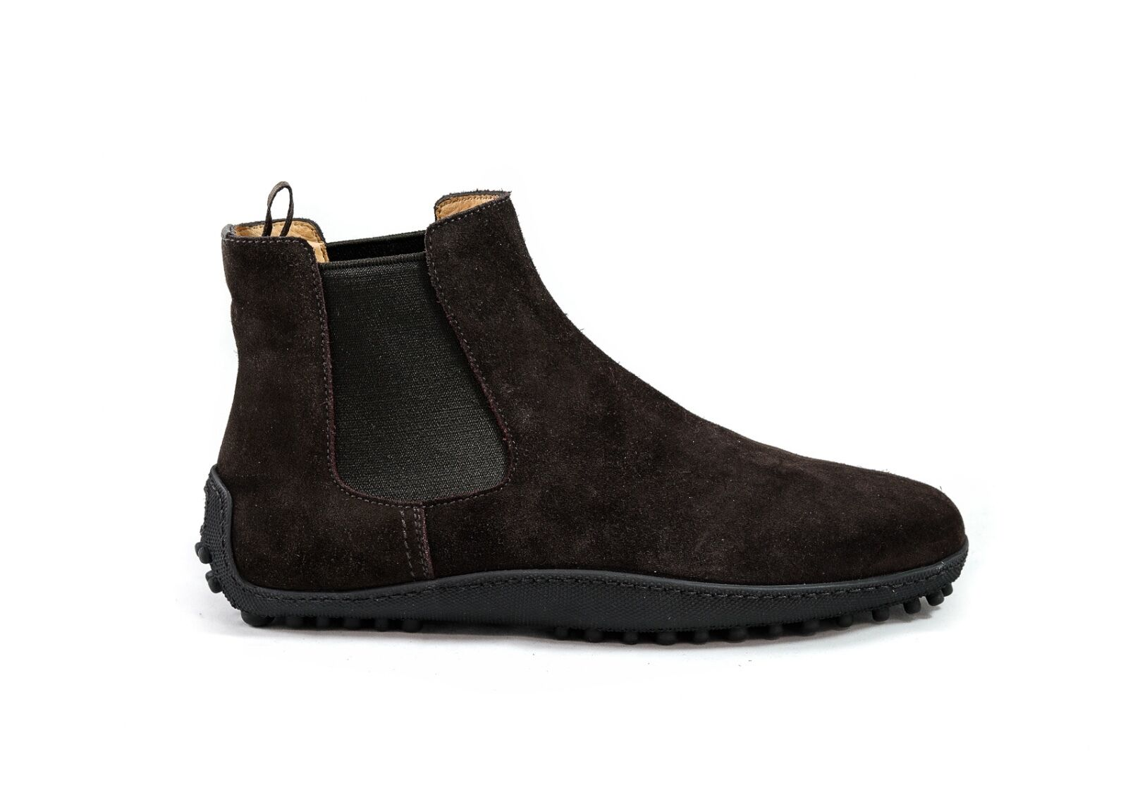 Car Shoe KUT531 Brown Suede Boot New in Box Scamosciato 1
