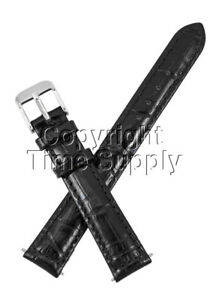 17-mm-BLACK-LEATHER-WATCH-BAND-CROCO-WITH-SPRNG-BARS
