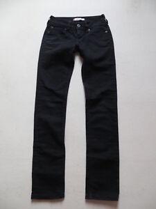 Levi-039-s-SLIM-FIT-Skinny-Jeans-Hose-W-26-L-32-schwarz-Jeggings-black-Denim