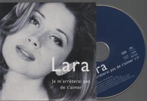 Lara-Fabian-Je-Ne-M-039-arreterai-Pas-De-T-039-aimer-Cd-Promo