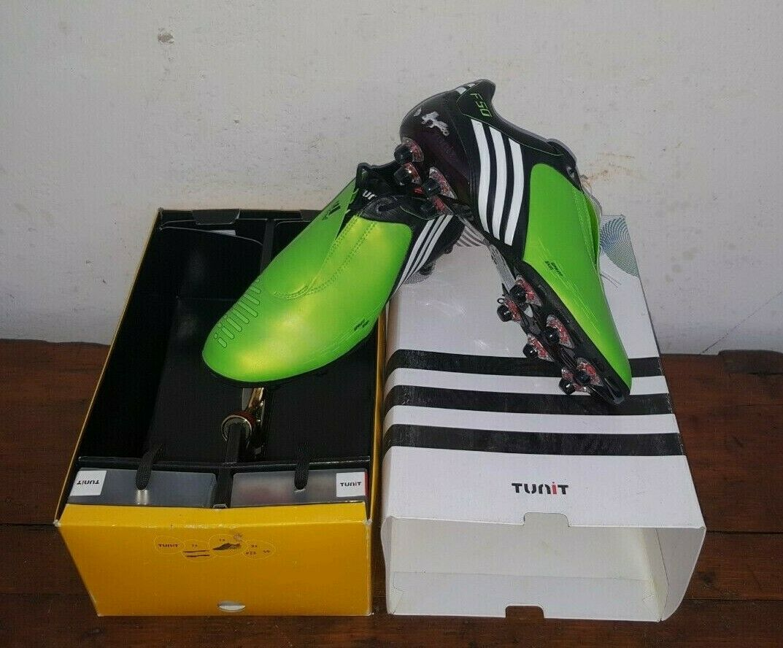 Adidas Prossoator F50 i Tunit Rare Soccer sautope Oldschool Messi nuovo in scatola Us 7.5
