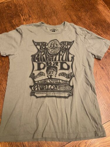 Greatful Dead Lucky Brand Shirt Sz M