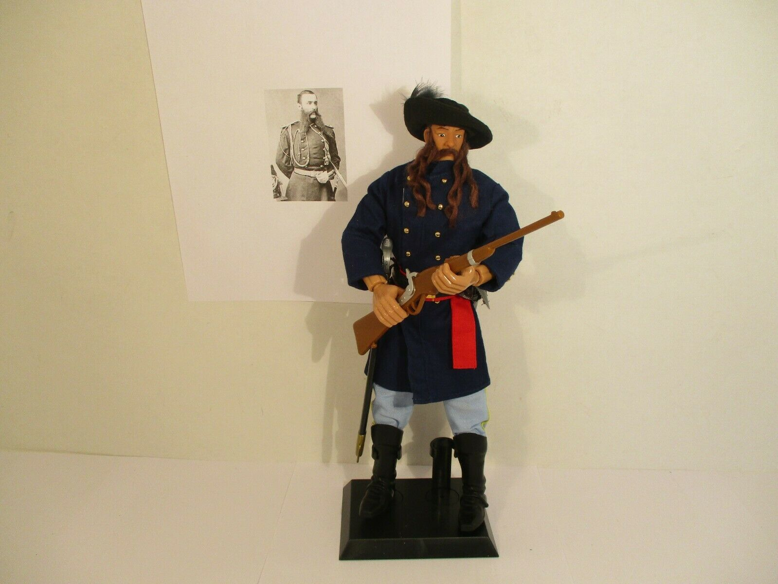 Lt William W Cooke Indian fighter Custer's Last Stand custom 1 6 12  figure