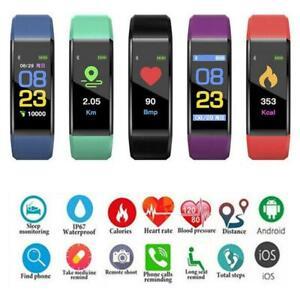 Bluetooth-Smart-Sport-Bracelet-bracelet-montre-cardiaque-Tensiometre