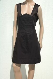 outlet store 19224 ce61b Dettagli su NEW * Marithé Francois GIRBAUD abito tubino nero senza maniche  46 black dress