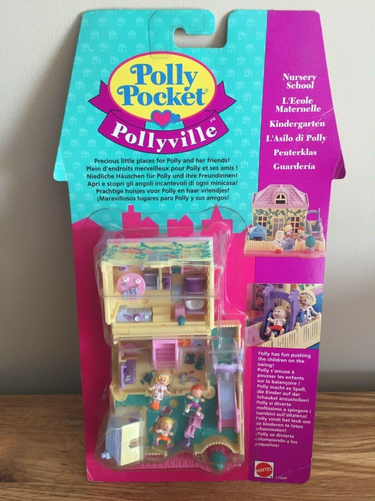 POLLY POCKET 11988 Nursery School MIB NEW IN BOX 1994