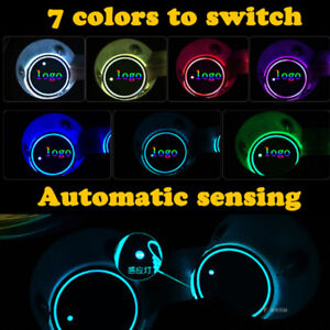 LED-Car-Cup-Holder-Bottle-Pad-Mat-for-Audi-Ford-Auto-Interior-Atmosphere-Light