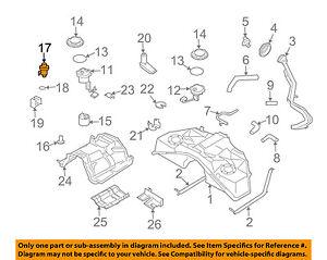 Infiniti NISSAN OEM 03-06 G35-Fuel Injection Pressure Regulator 226708H300  | eBayeBay