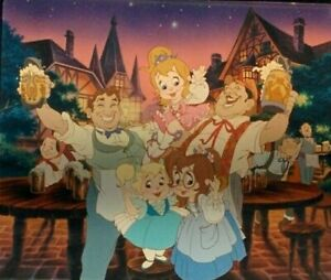 Tiny-Filmstrip-Keychain-from-Real-CHIPMUNK-ADVENTURE-MOVIE-Chipettes-Group-Shots