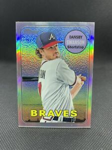 2018 Topps Heritage Chrome Refractor Dansby Swanson #THC-53 /569