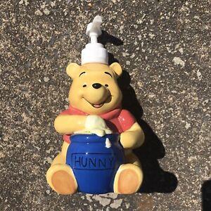 Winnie the Pooh Disney Ceramic Hunny Pot Soap Dispenser LNC