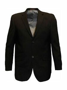 Da-Uomo-Formale-Classic-Fit-SINGOLO-breates-Suit-Jkt-in-Nero-FELIX-Petto-48-64-S-R