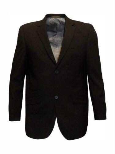 tour de poitrine 48-64 s//r Mens formal classic fit seul breates costume jkt noir félix
