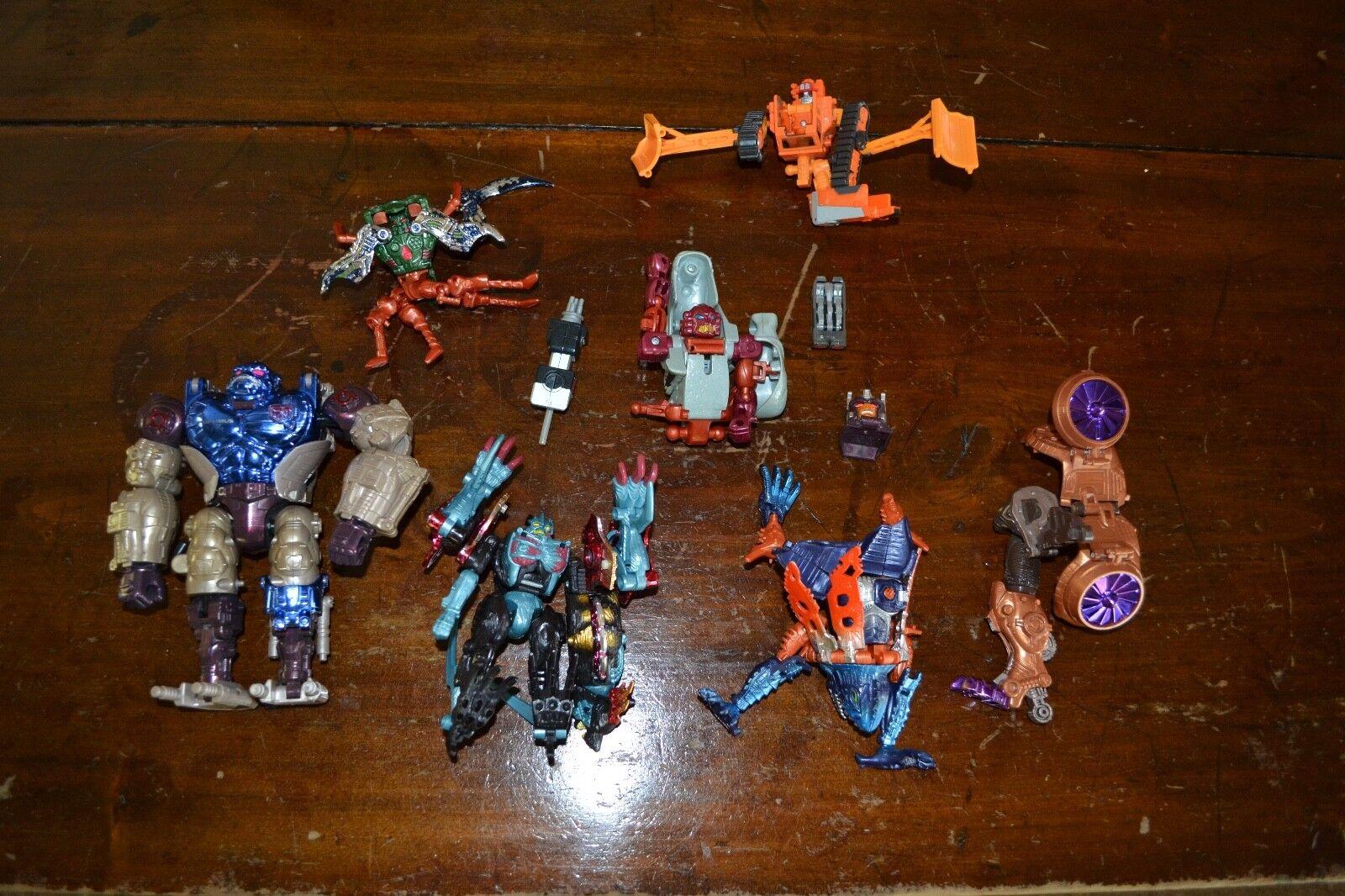 Transformers Beast Wars Transmetal Optimus Primal Primal Primal Plus Other Rare Pieces fba232