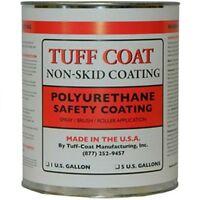 Tuff Coat Smooth Rubberized Deck Coating - Gallon Ut-100sr-dbrown