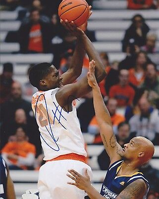 Sports Mem, Cards & Fan Shop Cheap Price Tyler Roberson Signed Autograph Auto 8x10 Photo Picture Syracuse Orange Su W/coa Possessing Chinese Flavors College-ncaa