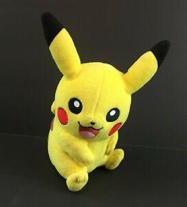 Tomy-9-034-Pokemon-Pikachu-Plush-Bright-Yellow-Stuffed-Animal-Doll