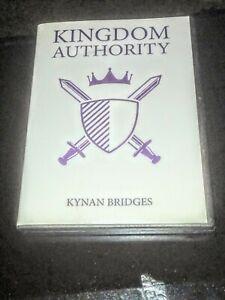 Kingdom Authority By: Kynan Bridges 4 CD Set! / Taking ...  |Kingdom Authority Kynan Bridges