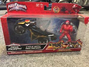 Power Rangers Ninja Steel, Mega Morph, Cycle With Red Ranger