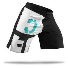 New Men's Reebok Crossfit Slim Core II Shorts Training Board Modern 38 Black