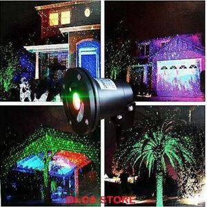 Proiettore faro laser luci di natale natalizie addobbo for Luci per esterno