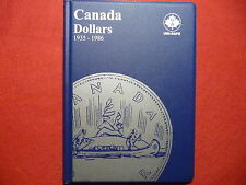 UNI-SAFE  CANADIAN  DOLLARS  FOLDER  ALBUM   (1935 - 1986  )  (#2)