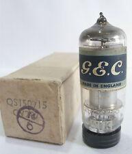 One GEC Genelex QS150/15 (CV287)Voltage Regulator tube- New Old Stock/New In Box