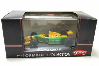 - F1 - 1992 - Benetton-ford B192 # 19 - M.schumacher - Kyosho # 7085-1 - 1:43 Il Massimo Della Convenienza