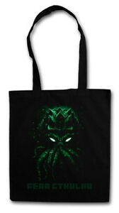 FEAR CTHULHU STOFFTASCHE Wars Horror Arkham H. P. Lovecraft Miskatonic