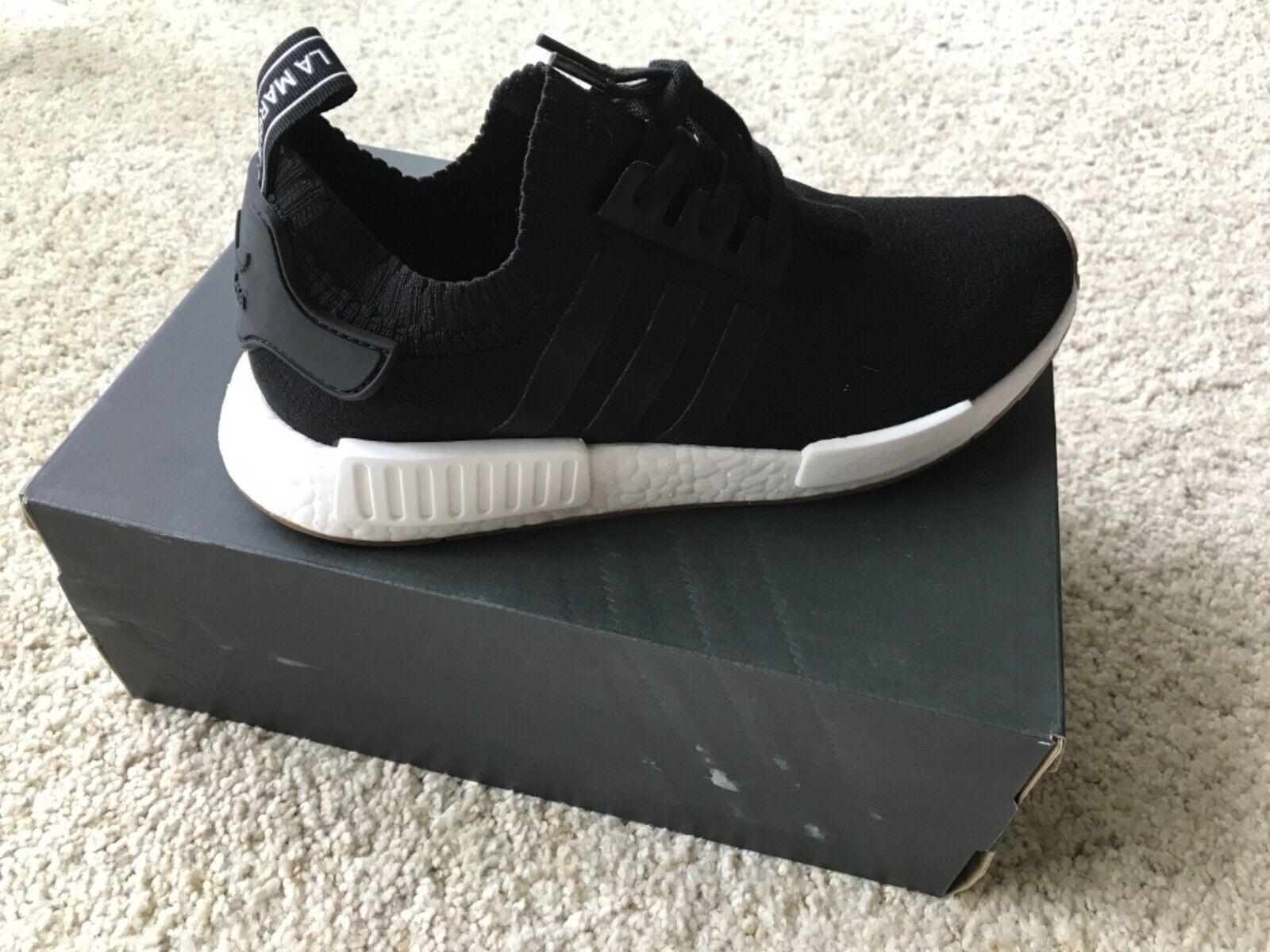 Mens Shoes Adidas Originals NMD R1 PK Gum Pack Core Black Gum White BY1887 by1887