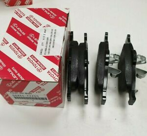 Genuine-Toyota-Lexus-Front-Brake-Pads-04465-YZZDS-Original-New-Full-Set