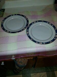 Legendary-by-Noritake-PRESCOTT-set-of-2-Dinner-Plates