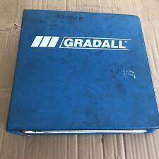 Gradall G3wd Combined Service Manual Shop Repair With Operators Manual