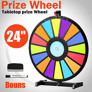 24-034-Multi-Color-Editable-Tabletop-Prize-Wheel-Fortune-Spinning-Game-Carnival