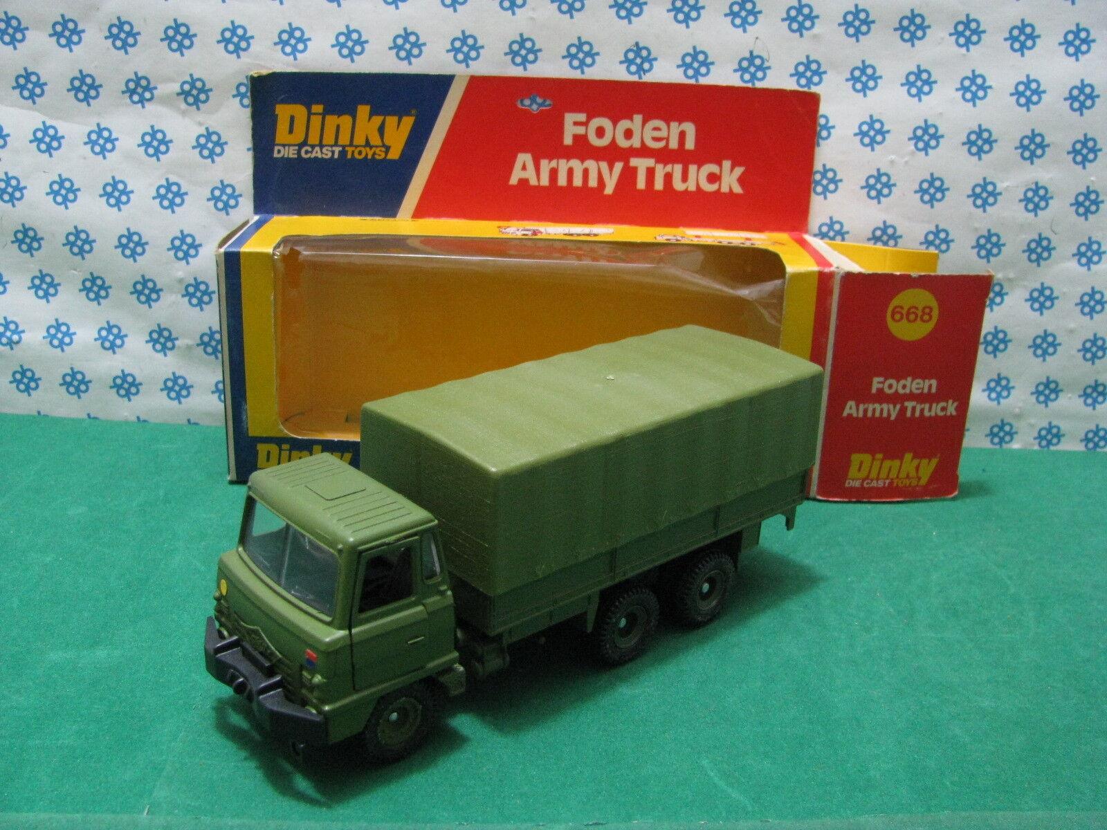 Foden Army Camion - Dinky Dinky Dinky Supertoys 668 Mint en Boîte 422f42