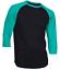 Raglan-Men-039-s-Casual-Baseball-T-Shirt-3-4-Sleeve-Plain-Jersey-Tee-S-2XL thumbnail 4