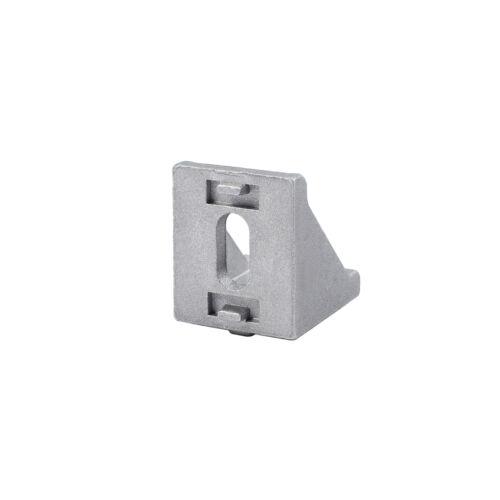 40x Befestigungsmaterial Winkel Befestigung Nut 8 Aluprofil für 30x30 Aluminium
