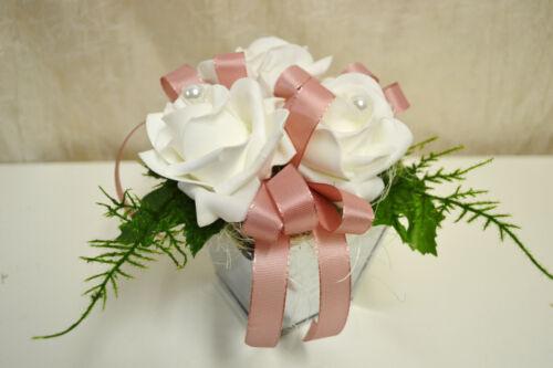 Girlande Rosengirlande Rose Seidenblumen lachs orange 180 cm 14896-22 F14