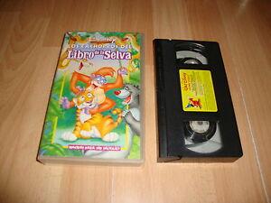 Los Cachorros Del Libro De La Selva En Vhs De Walt Disney En Buen Estado Ebay