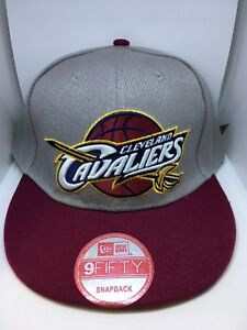 online store 702b5 26d50 Image is loading New-Era-NBA-Team-9FIFTY-Snapback-Cap-Cleveland-