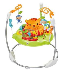 030405e07 Fisher-Price Roaring Rainforest Jumperoo Activity Exersaucer Baby ...
