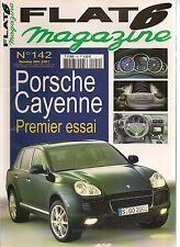 FLAT 6 142 ESSAI PORSCHE CAYENNE S & TURBO 996 TURBO 9FF 964 RS 3.6 911 S 2.0
