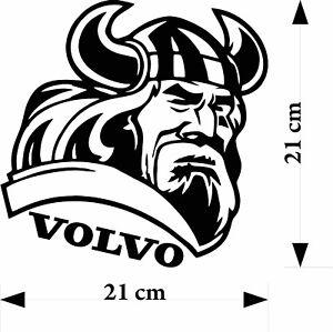 Volvo Viking Vinyl Decal Sticker Truck For Walls Glass
