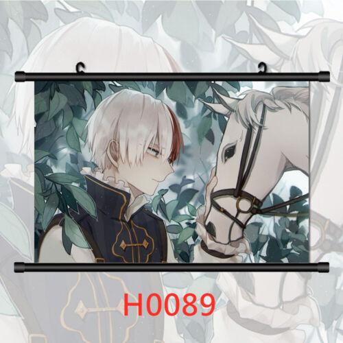 Boku no Hero Academia Wall Poster Scroll Home Decor Cosplay
