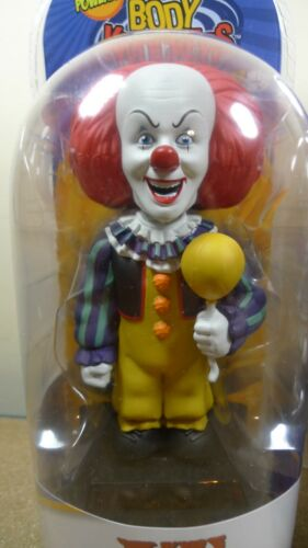 Neca IT PENNYWISE Solar Powered Body Knockers Both 1990 /& 2017 VERSIONS BN